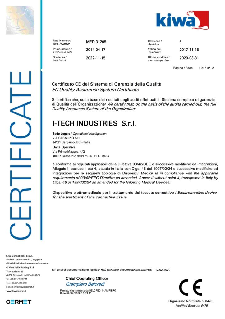 Сертификаты аппарата айкуне