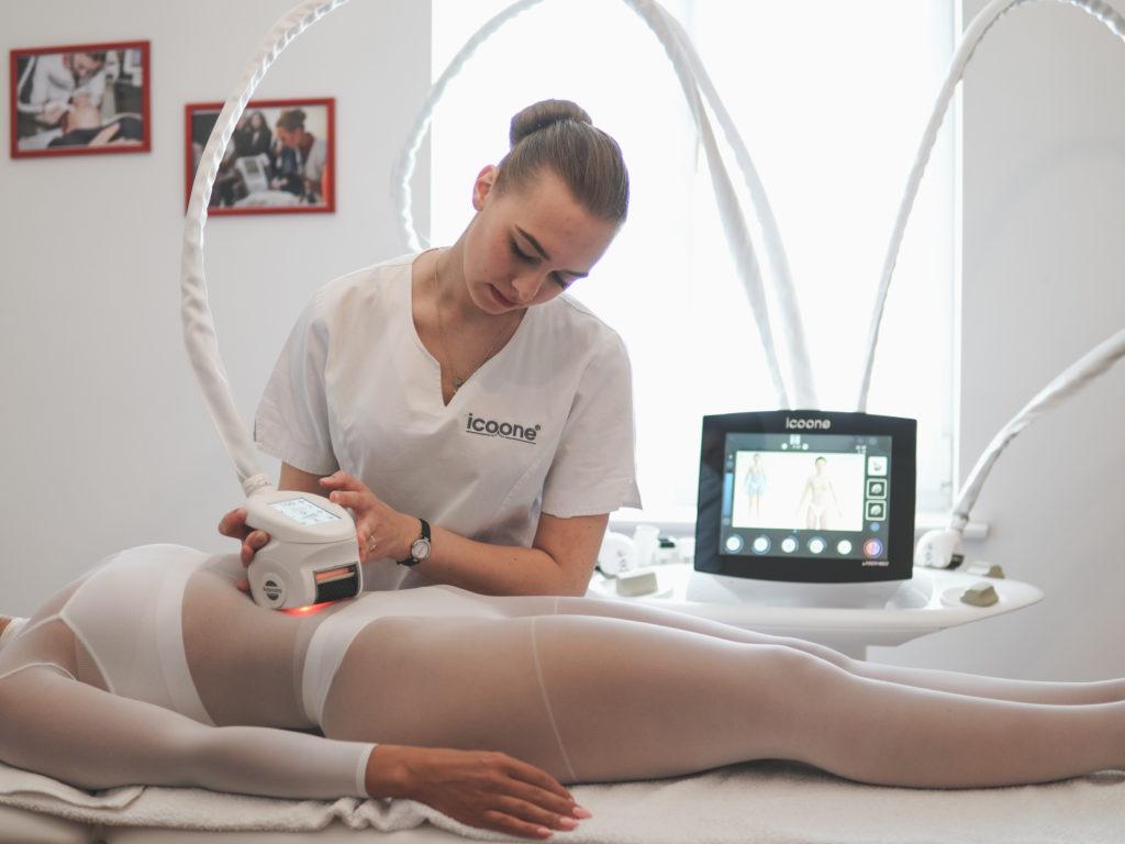 Программа Silhouette icoone laser - массаж, обработка зоны живота